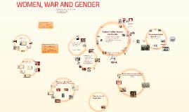 Women, War, and Gender