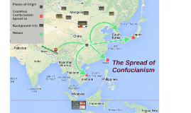 Confucianism Map