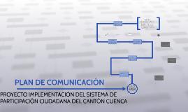 IMPLEMENTACIÓN DEL SISTEMA DE PARTICIPACIÓN CIUDADANA DEL CA