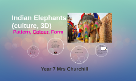 Indian Elephants (culture, 3D)