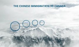 The Chinese Immigration To Canada