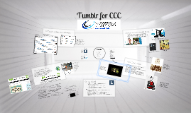 Tumblr for CCC