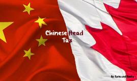 Chinese Head Tax