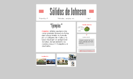 Poliedros de Johnson