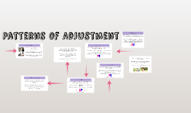 Patterns of Adjustment