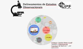 CONCURSO Famed - Delineamento Estudos Observacionais