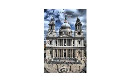 Historic London: St. Paul's Cathedral
