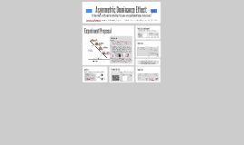 Asymmetric Dominance Effect