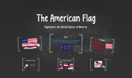 Copy of The American Flag