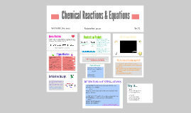 Chemical Equations and parts