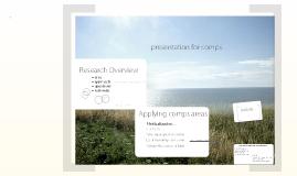 Comps Presentation