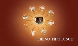 FRENO TIPO DISCO