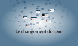 Le changement de sexe