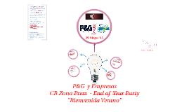 P&G y Empresas. CB Zona Press - Fiesta Fin de Curso