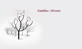 Families : Divorce