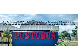 Diseño del plan HACCP en la línea embotelladora de gaseosa (