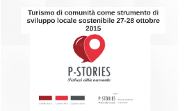 Turismo di comunità come strumento di sviluppo locale sosten