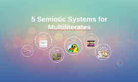 5 Semiotic Systems