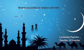 Women according to religion worldwide