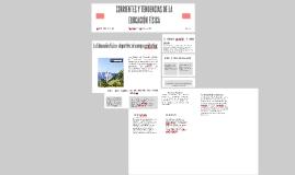 Copy of CORRIENTES Y TENDENCIAS DE LA EDUCACIÓN FÍSICA