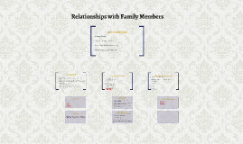 Relationships with Family Members