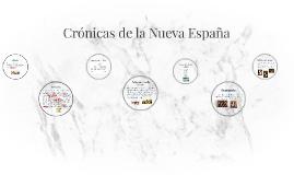 Crónicas de la Nueva España