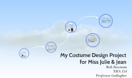 My Costume Design Project for Miss Julie & Jean