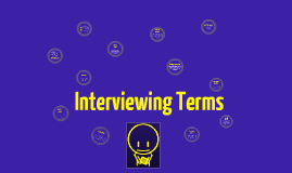 Interviewing Vocabulary