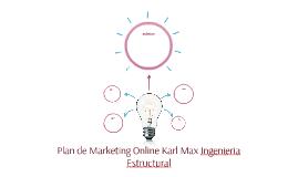 Propuesta Plan Online Karl Max Ingenieros