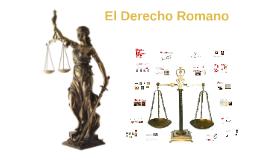 Copy of El Derecho Romano