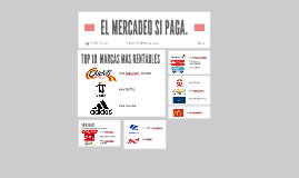 EL MERCADEO SI PAGA.
