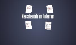 Menschenbild im Judentum