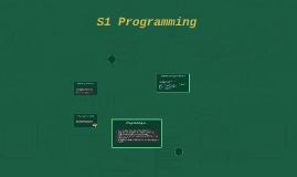 S1 Programming