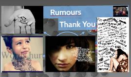 Gossip, Rumours & Bullying