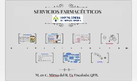 Copy of Copy of SERVICIOS FARMACÉUTICOS