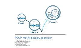 PSUP Methodology