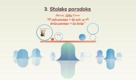 3. Stoiske paradoks