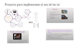Copy of Cómo tratar de ayudar a instalar el uso de las Tic en nuestr