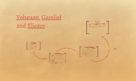 Yohanan, Eliezer and Gamliel