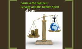 Earth in the Balance: