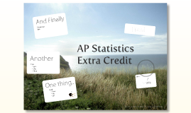 ap extra credit 2 Ap biology extra credit assignments – 25 points what you may do for extra credit is generally limited only by what you are willing to do if you are interested in.