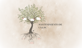 MANTENIMIENTO DE UNA PC