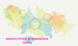Negative effects of standardized testing