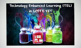 Technology Enhanced Learning Update (September 2016)