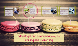 Copy Of Advantages And Disadvantages Hot Desking Teleworking