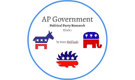 Political Party Research - AP Gov