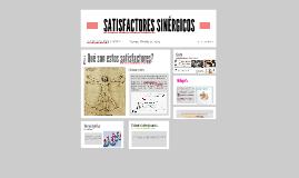 SATISFACTORES SINÉRGICOS