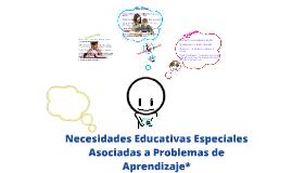 Copy of Problemas de aprendizaje*
