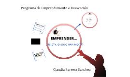 Presentación emprendimiento