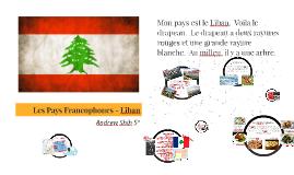 Les Pays Francophones - Lebanon
